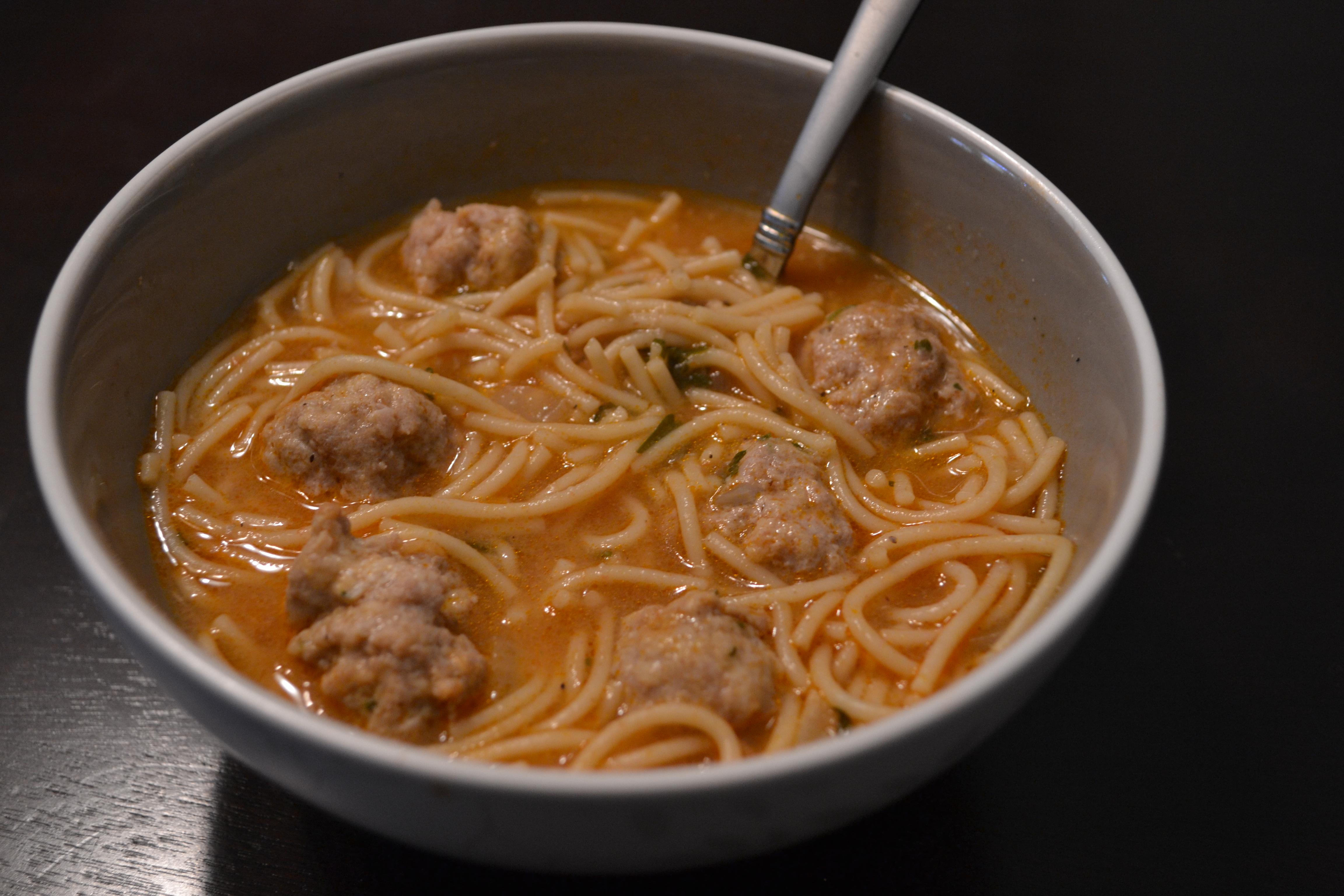 meatball and pasta and healthy soup spaghetti meatball soup spaghetti ...