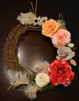 Spring Wreath: Springing Forward after I FellBack!