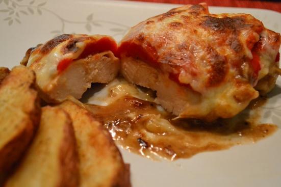 Roasted Red Pepper & Mozzarella Chicken